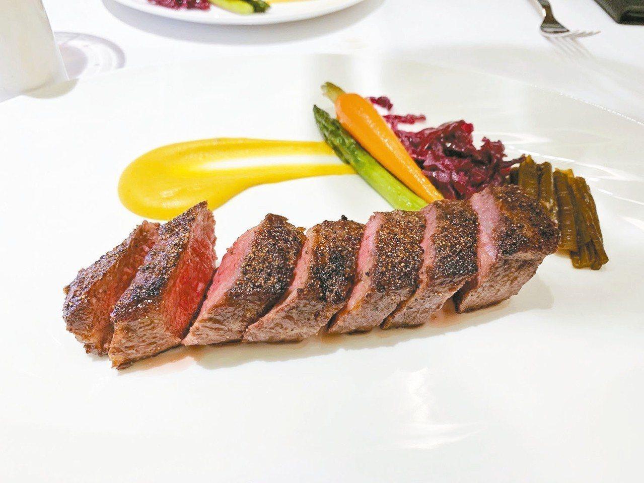 王品新品牌The WANG定位為「擁有特色牛排的高檔法餐廳」。 記者嚴雅芳/攝影