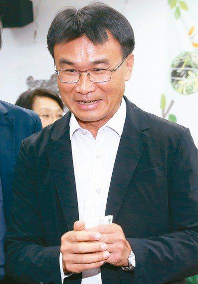 農委會主委陳吉仲。 記者余承翰攝影