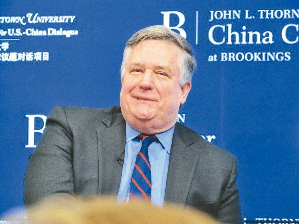 白宮國安會前亞洲事務資深主任韋德寧。 華盛頓記者張加/攝影