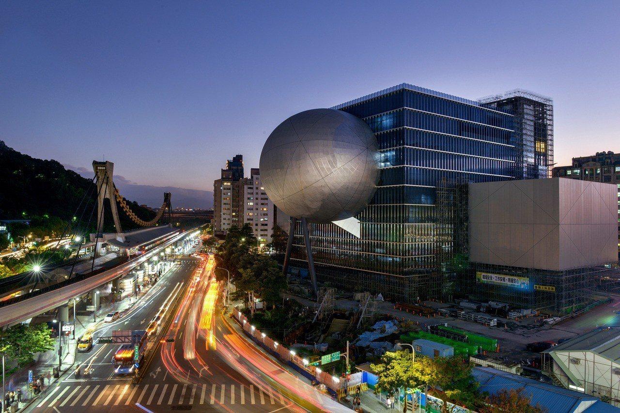 延宕近5年的台北市文化局工程興建案「台北藝術中心」預計將在111年營運。圖/北市...