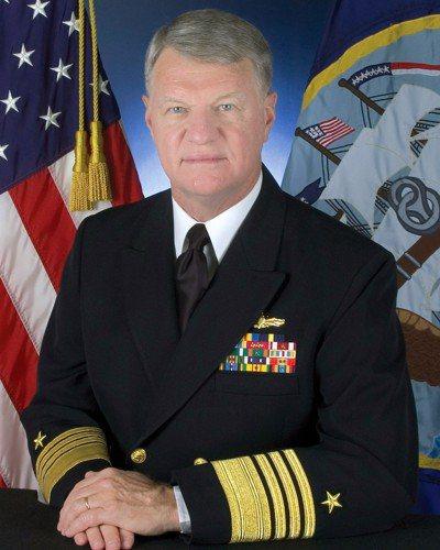 美國退役海軍上將羅福賀。 圖片來源/「wikimedia.org」網站