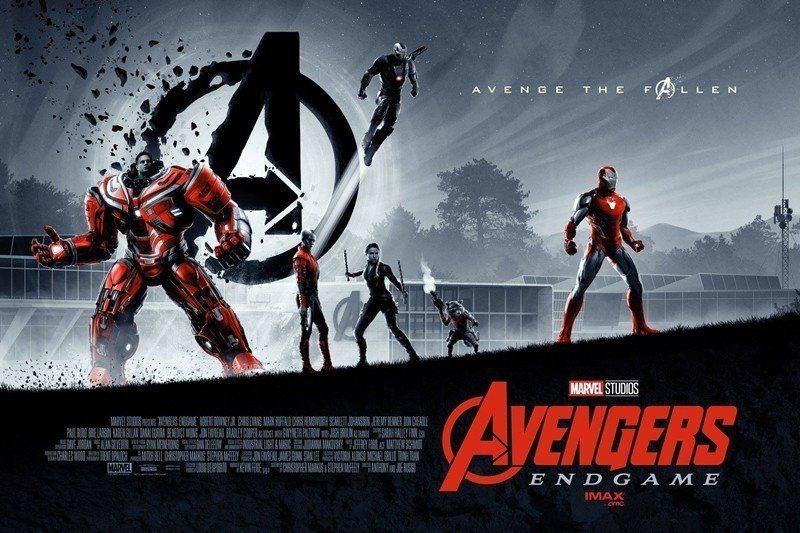 《復仇者聯盟4:終局之戰》海報。 圖/取自Marvel