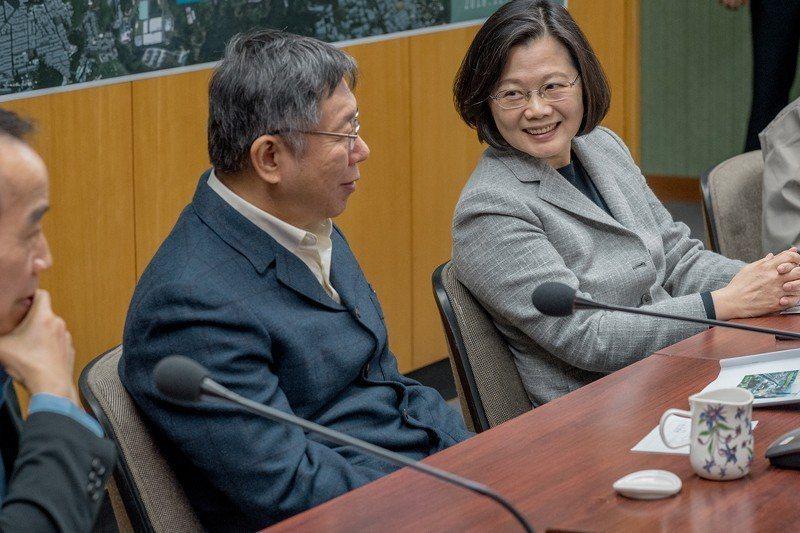 不管是蔡英文、是賴清德、是柯文哲,可以決定台灣的未來是因為底下許許多多叫不出名字...