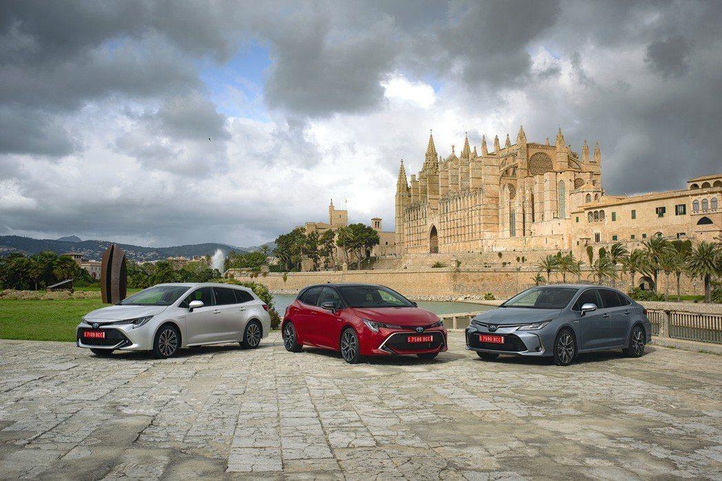 第一季在歐洲所賣出的Corolla Hatchback與Corolla Tour...