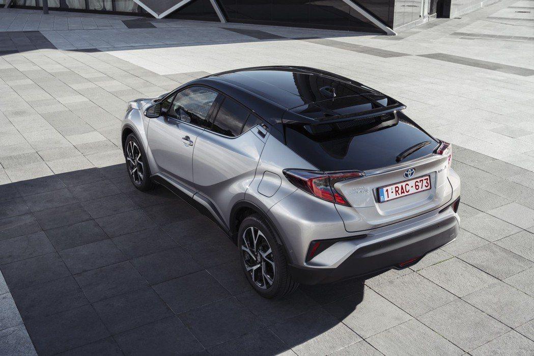 Toyota CH-R Hybrid在歐洲十分暢銷。 摘自Toyota