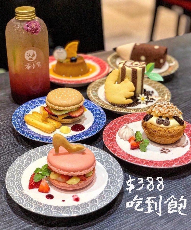 圖/台灣首家「迴轉甜點」精緻的可愛甜點。網友eatha.foodie授權