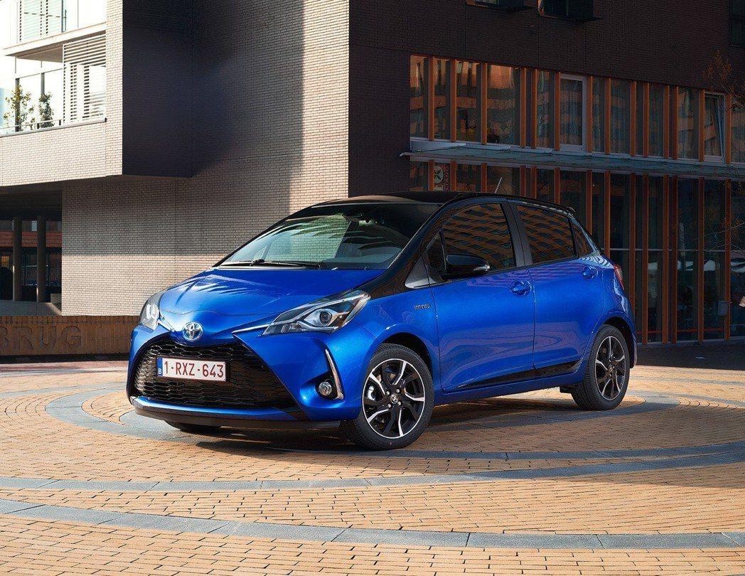 Toyota今年第一季於歐洲最暢銷的就是掀背小車Yaris,油電版小鴨更佔了車系...