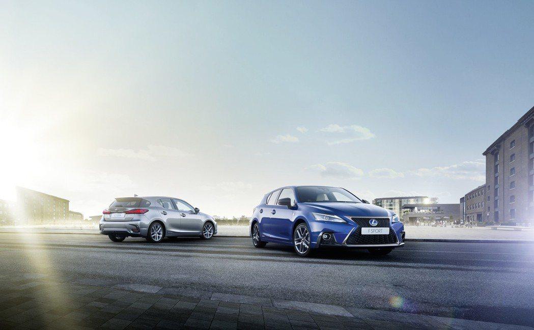 Lexus CT200h今年第一季於歐洲也賣出了近兩千台的銷量。 摘自Lexus