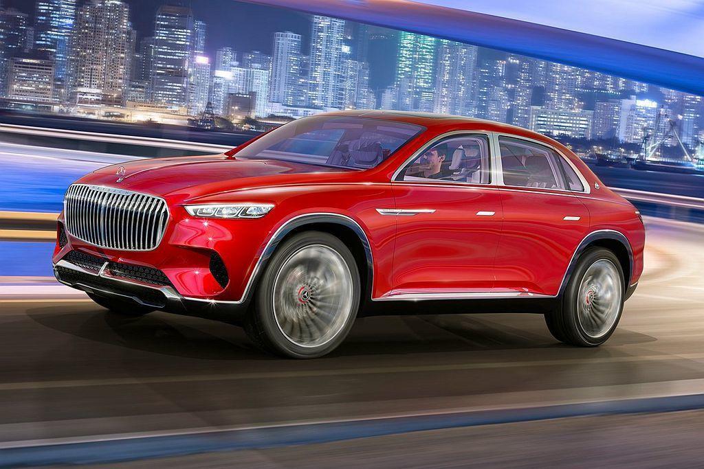 去年中國北京車展發表的Vision Maybach Ultimate Luxur...