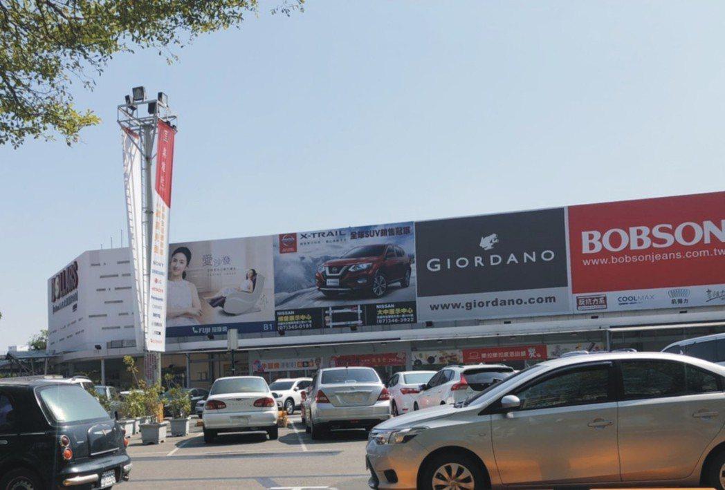 五分鐘便利生活圈-大樂購物中心。圖片提供/勇貿建設
