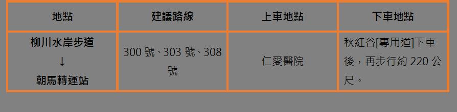 朝馬轉運站 圖/funtime小編