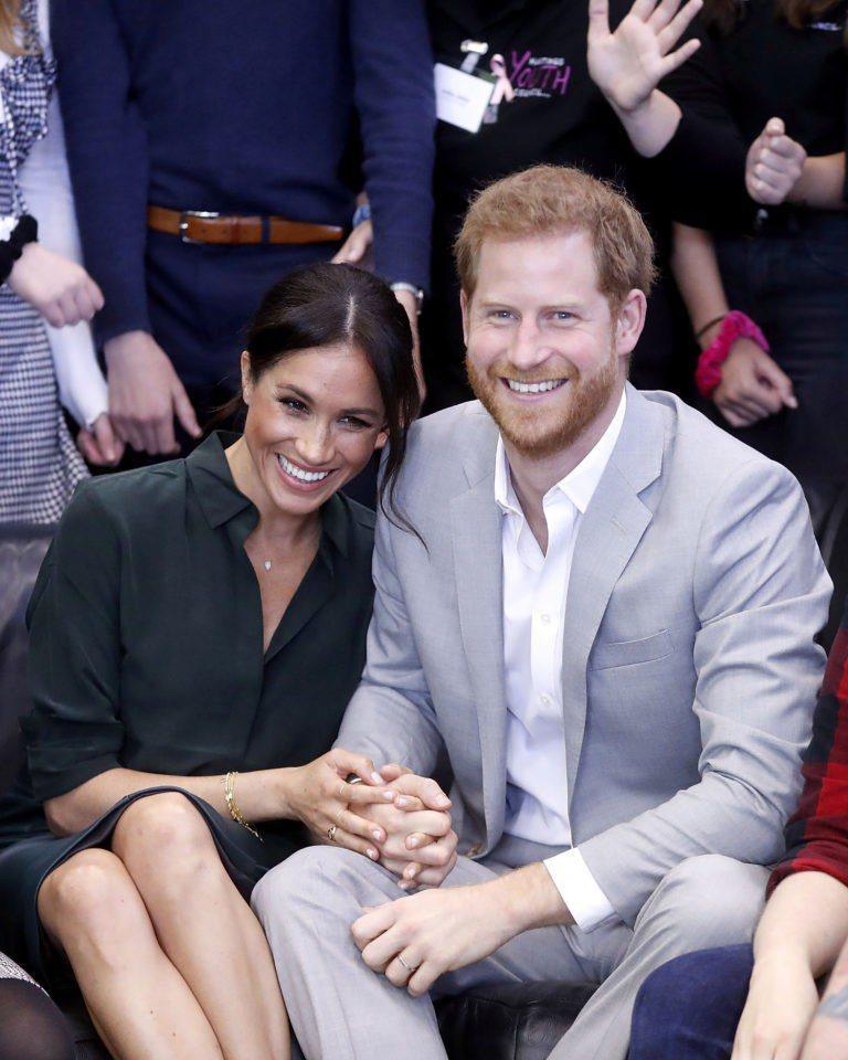 哈利王子與梅根一舉一動備受關注,英國皇室不見得樂見。圖/路透資料照片