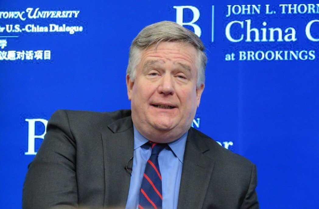 白宮國安會前亞洲事務資深主任韋德寧。華盛頓記者張加/攝影