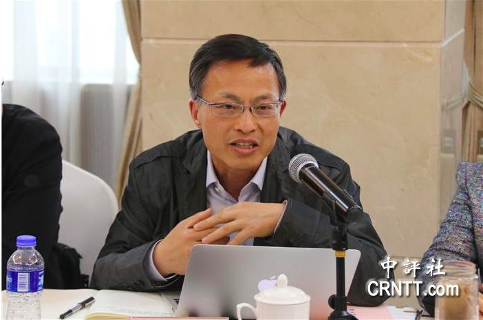 上海台灣研究所常務副所長倪永傑。(中評社)