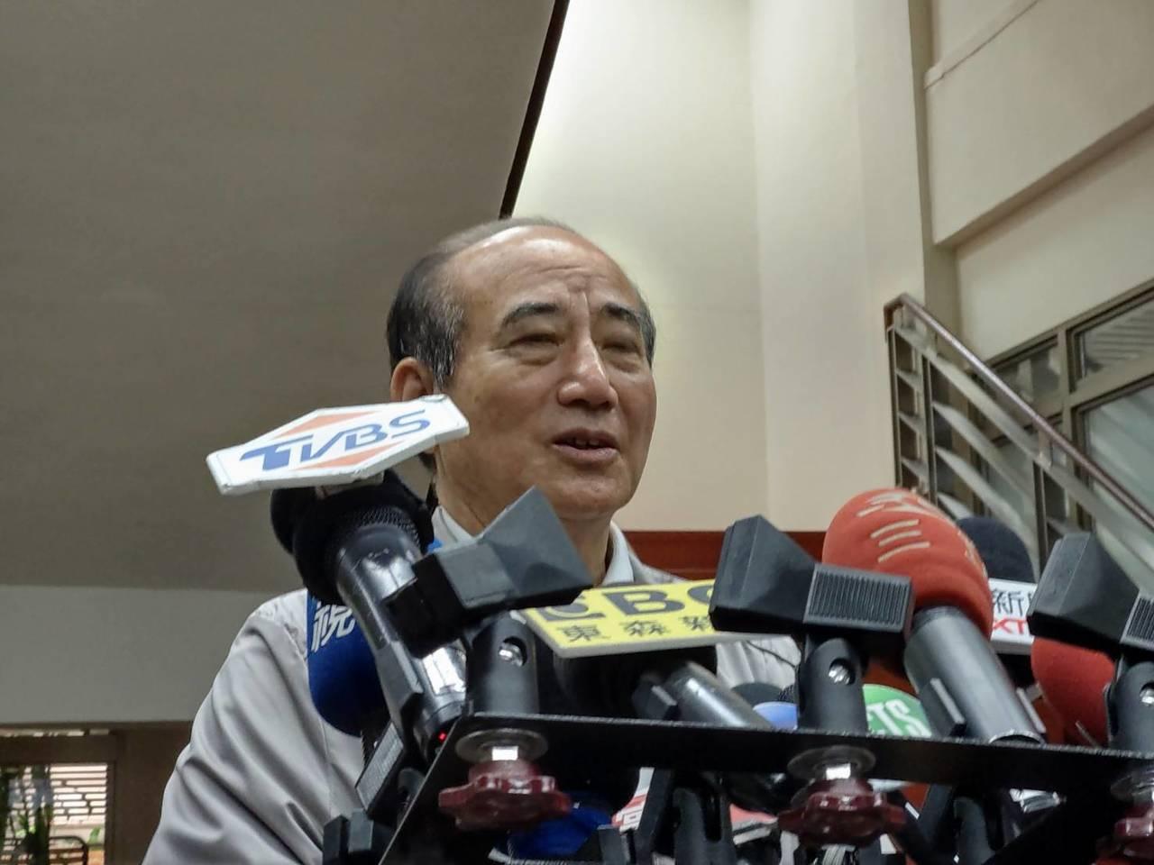 國民黨立委王金平。記者劉宛琳/攝影