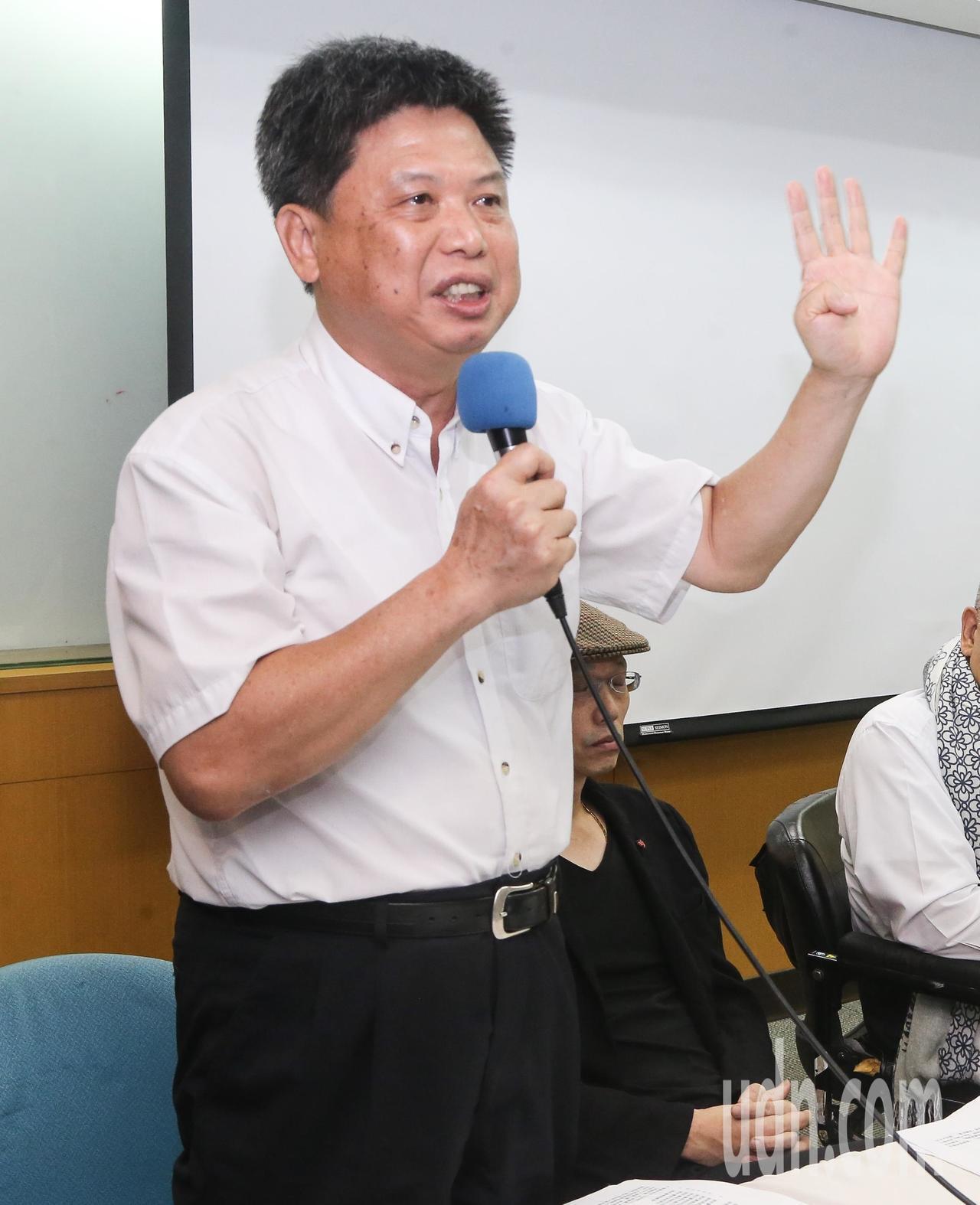 政大地政系教授徐世榮。本報資料照片