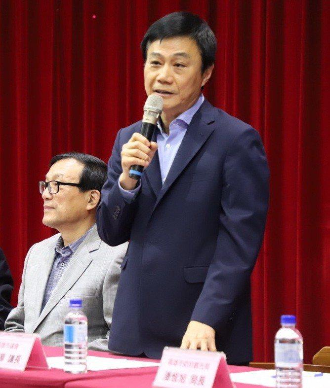 高雄市議會議長許崑源說尊重與支持韓國瑜市長的決定。圖/高雄市議會提供
