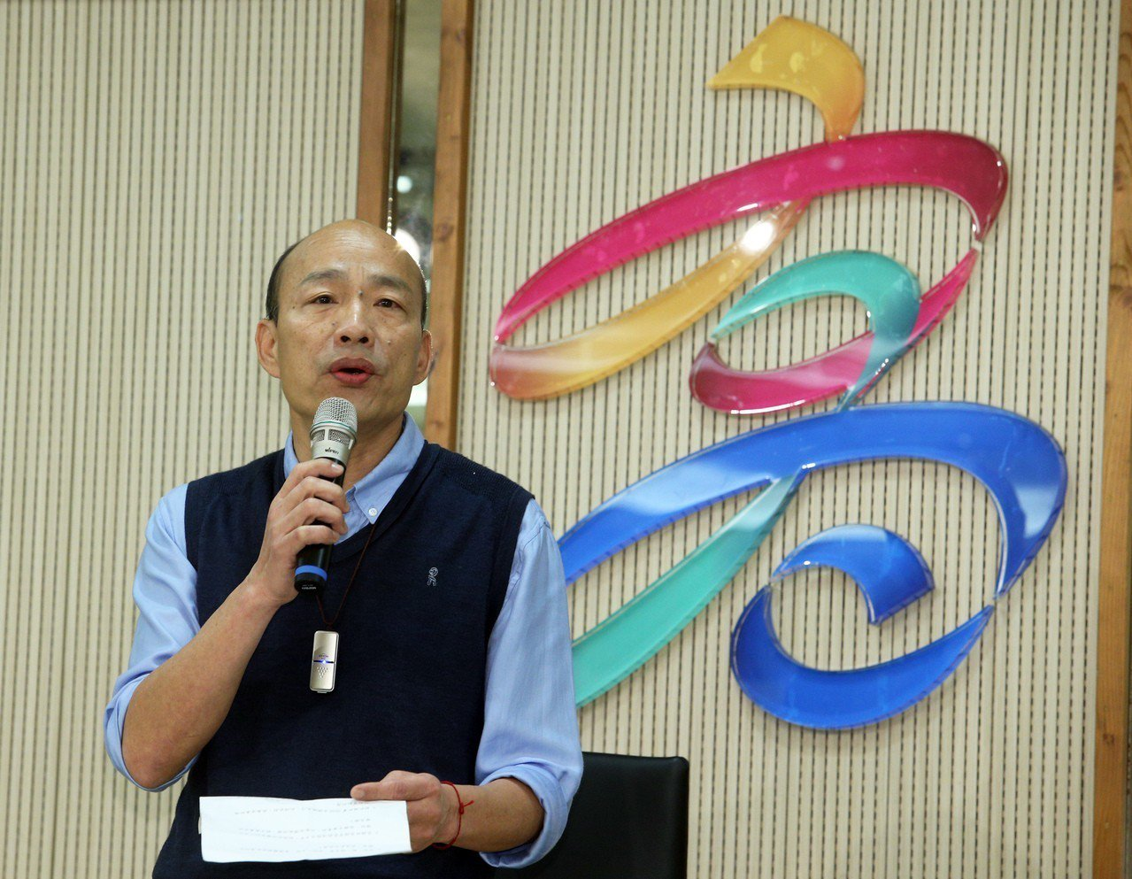 高雄市長韓國瑜今天發表聲明,談到對於國民黨2020年總統大選,此時此刻,無法參加...