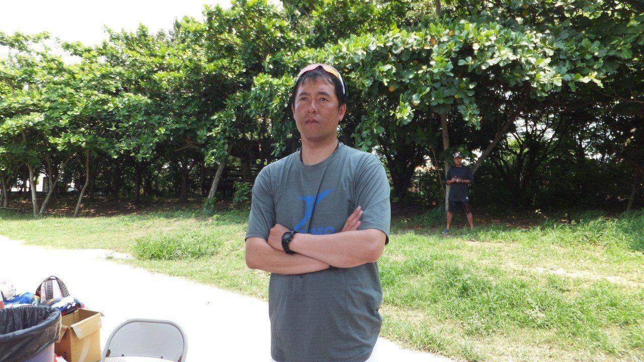 桃市總教練黃湋志挑戰四連霸,強調走一步算一步。記者藍宗標/攝影