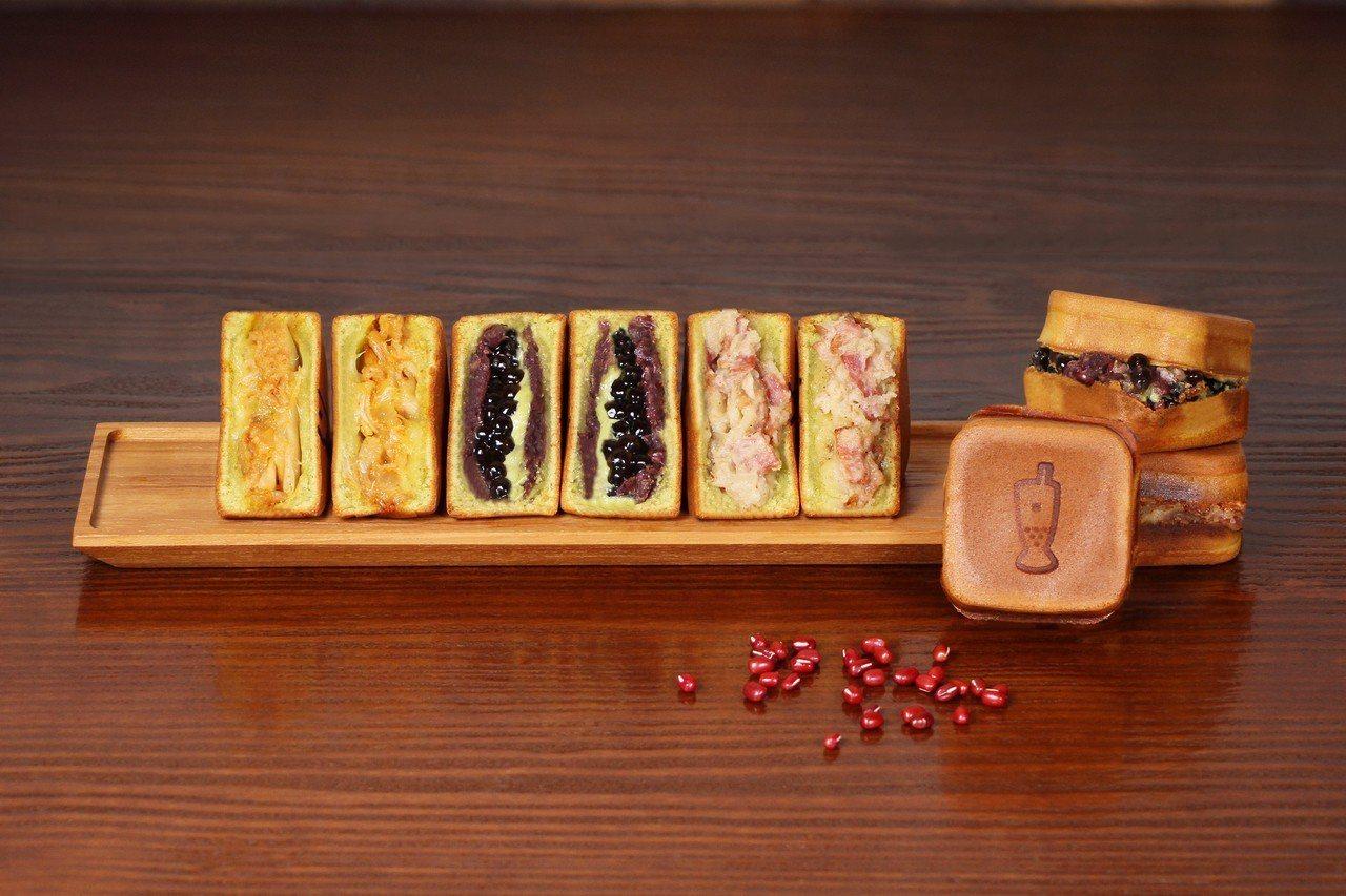 春水堂台中市政店限定販售「App餅」。圖/春水堂提供