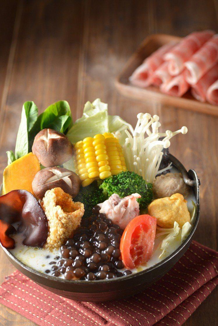 隱藏版菜單「珍珠奶茶鍋」。圖/春水堂提供