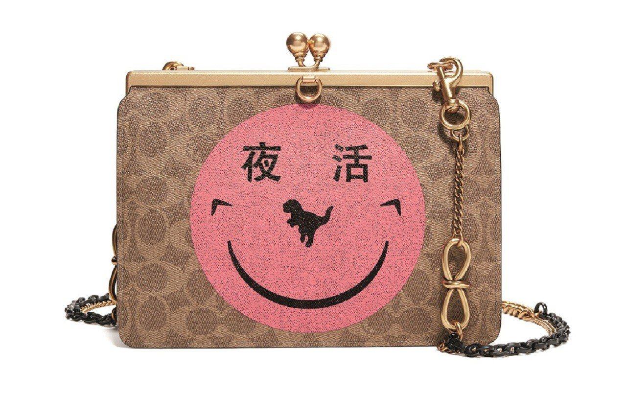 音樂團體YETI OUT笑臉塗鴉成為Double Frame Bag的主視覺,售...