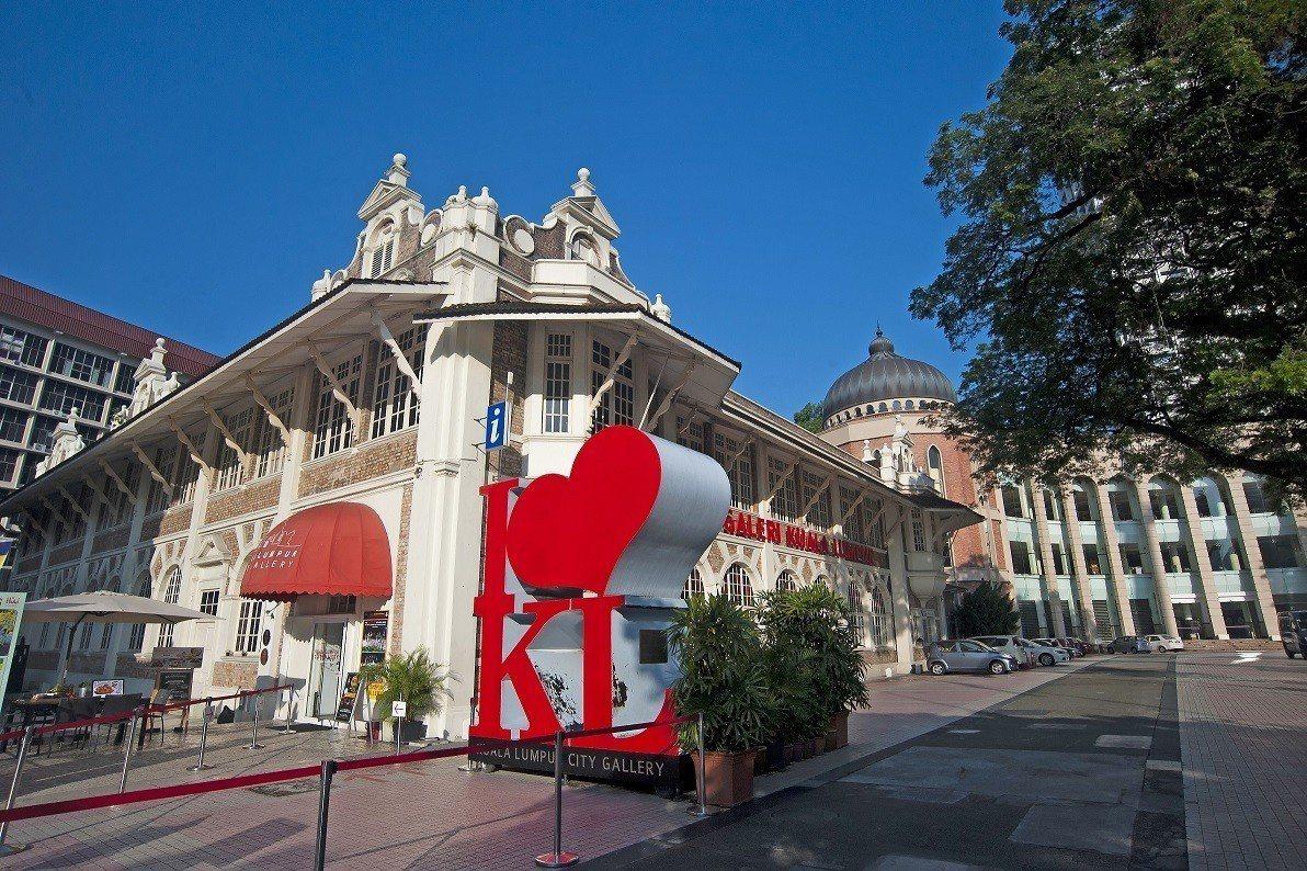吉隆坡城市規劃展覽館記載著城市發展的歷史點滴。圖/馬來西亞觀光局提供