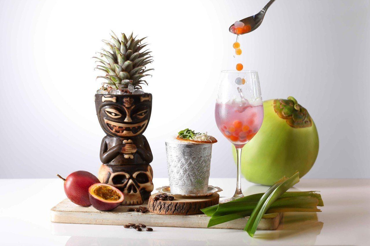 新北市板橋的Asia 49亞洲料理及酒廊,4月15日推出全新酒單,負責規劃的是台...