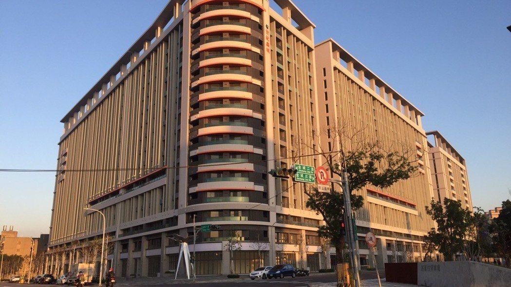 「金城青創宅」將成為竹市首座公宅,預計將有700戶。 圖/新竹市府提供