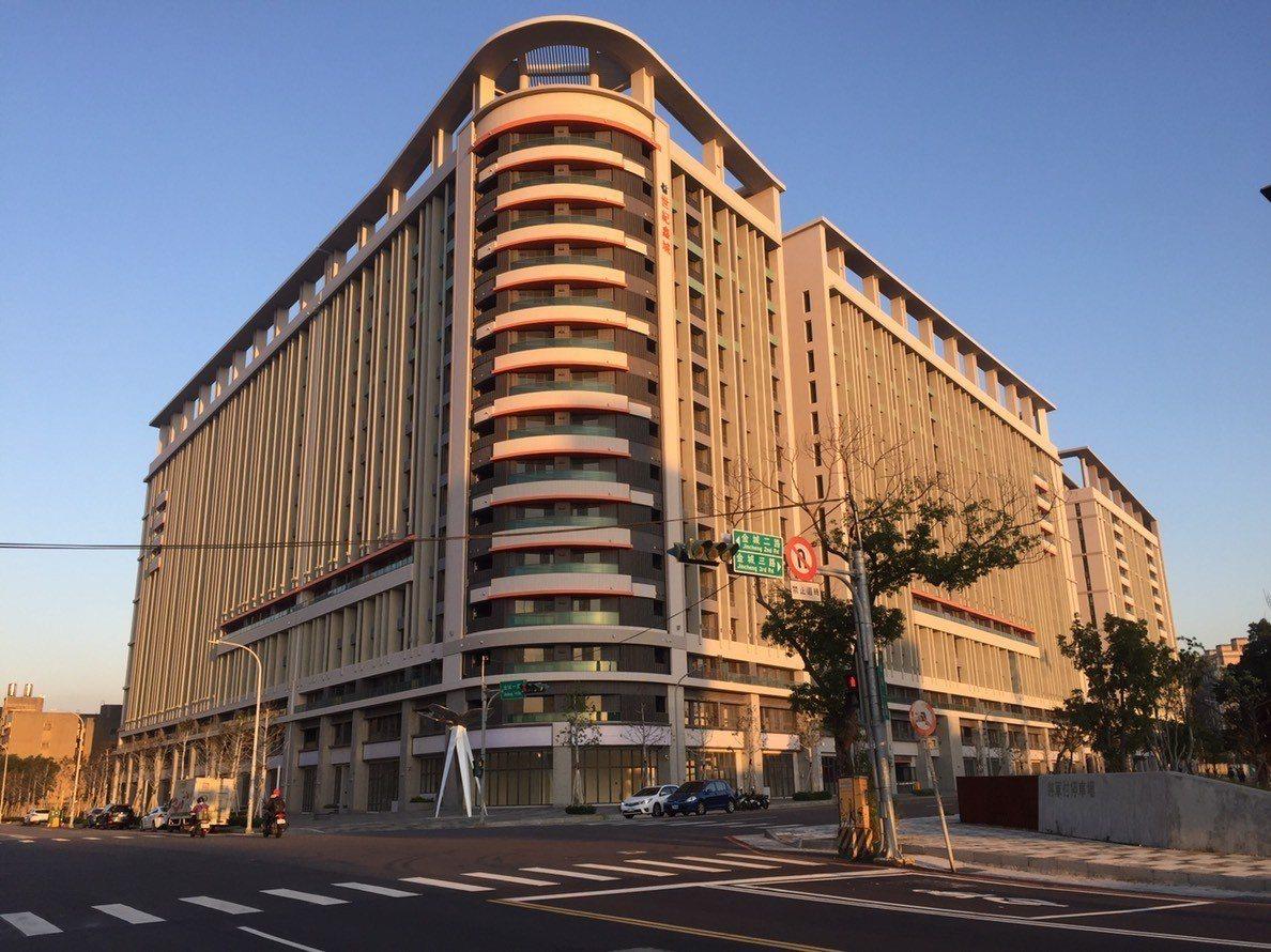 「金城青創宅」將成為竹市首座公宅,預計將有700戶。圖/新竹市府提供
