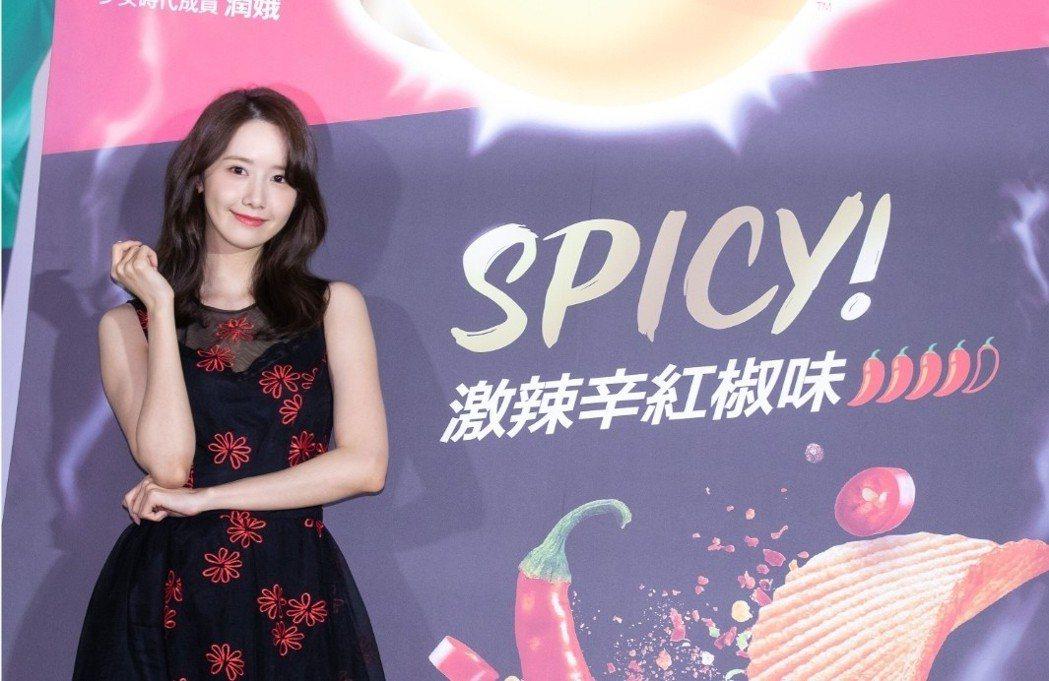 潤娥希望成為世界級代言人。記者李姿瑩/攝影
