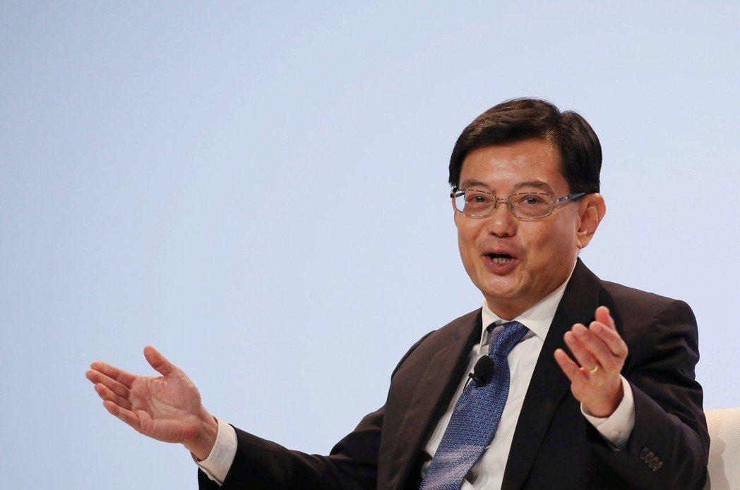 新加坡財長王瑞杰。   路透