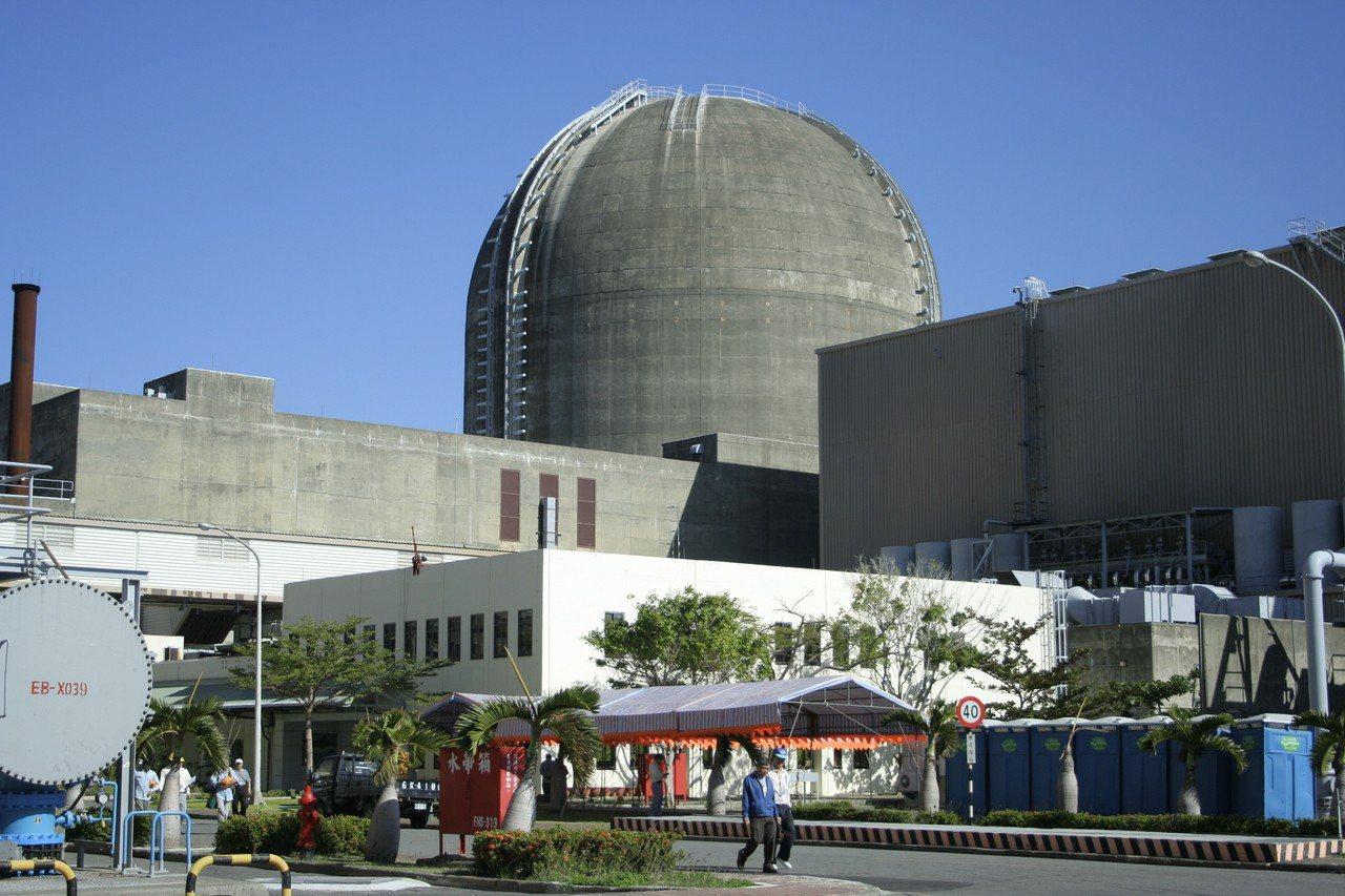 台電核三廠1號機。圖/本報資料照