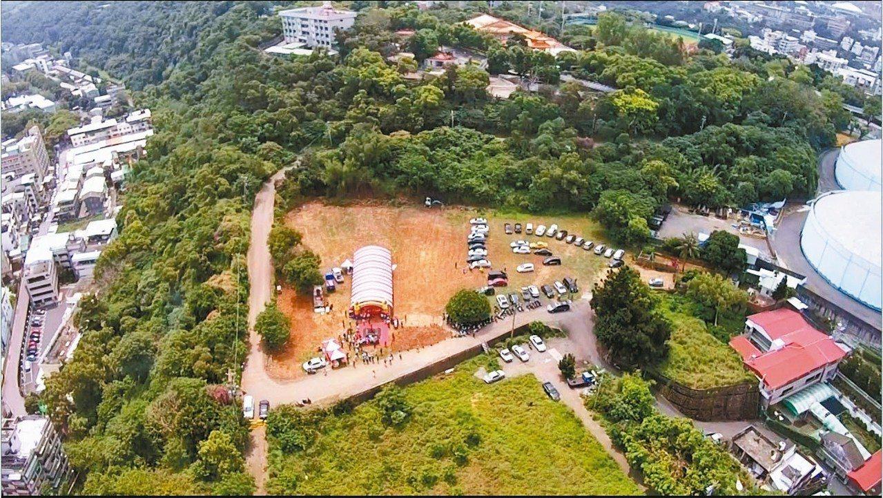 彰化市八卦山麓民族新村眷村舊址,將闢為多元的大型公園。 圖/彰化縣府提供
