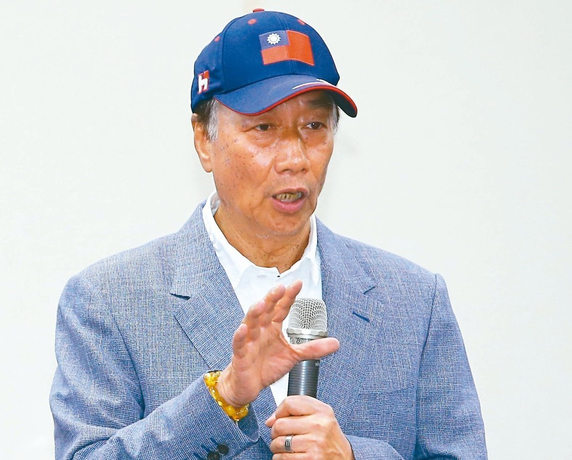 鴻海集團董事長郭台銘。 圖/聯合報系資料照片