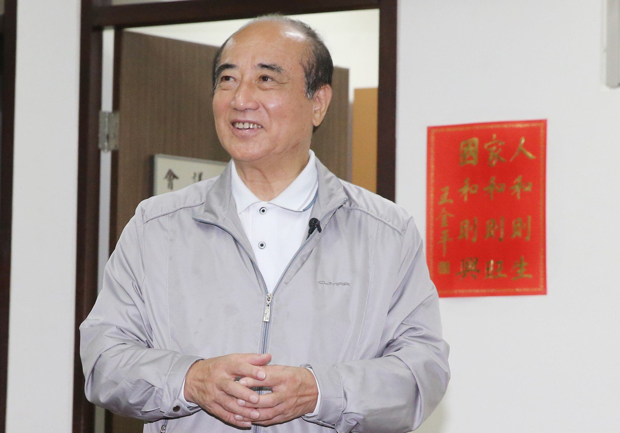 立法院前院長、立委王金平昨天在受訪時表示,若韓國瑜參選,大家公平競爭。 記者曾學...