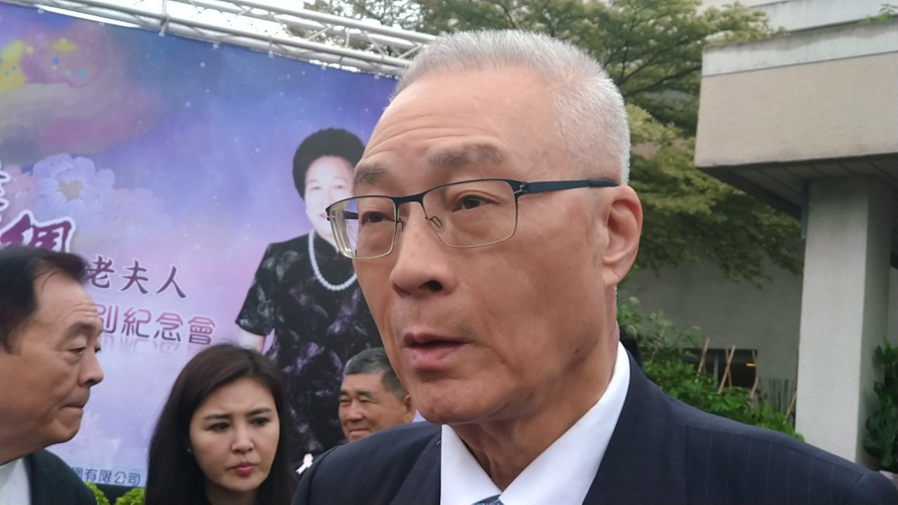 國民黨主席吳敦義。聯合報系資料照片/記者蔡孟妤攝影