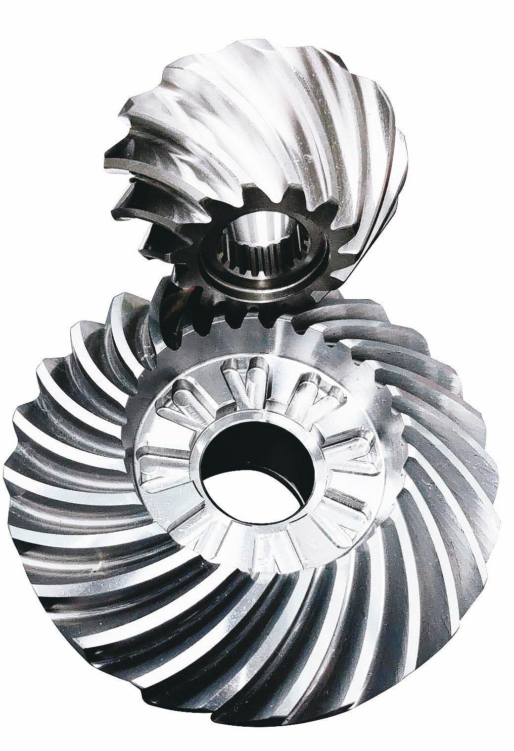 豪倫公司堪稱尖端傘形齒輪製造廠家。 吳青常/攝影