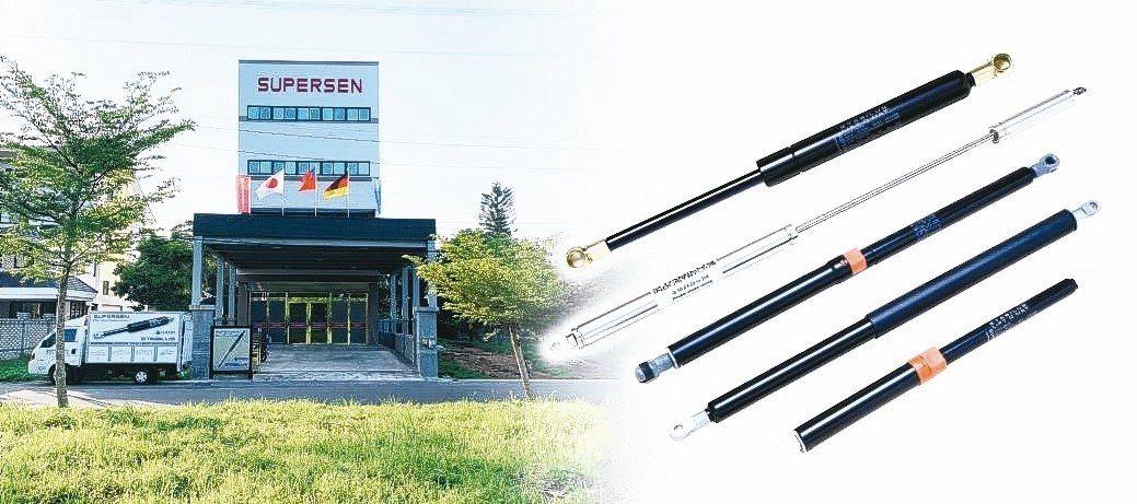琥盛企業專業生產氣壓棒、氮氣缸等產品。 琥盛/提供