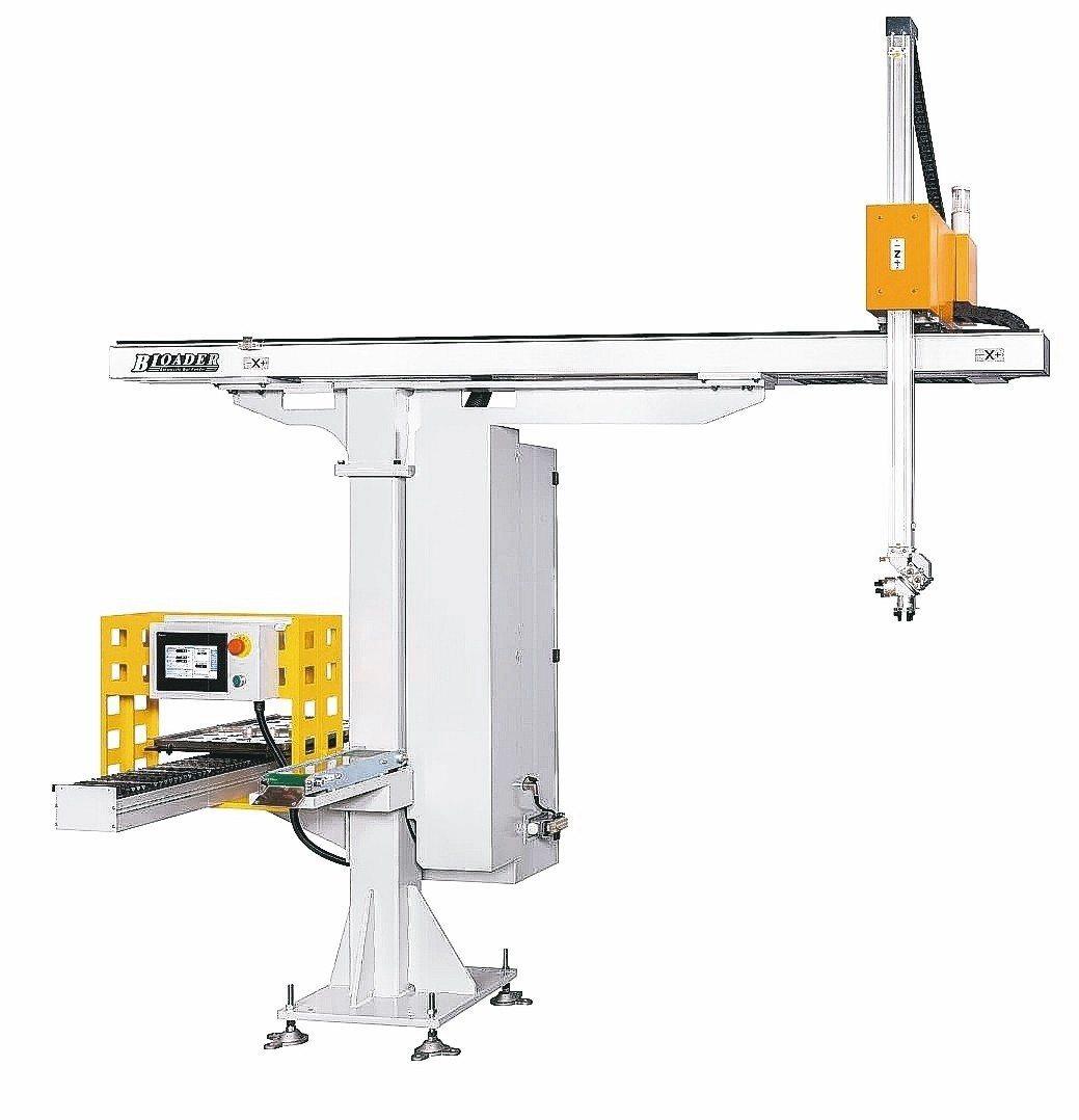 富豪機電「隼」系列泛用門型機械手。 富豪機械/提供