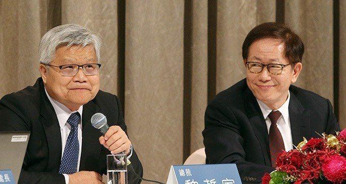 台積電總裁魏哲家(左)與董事長劉德音(本報系資料庫)