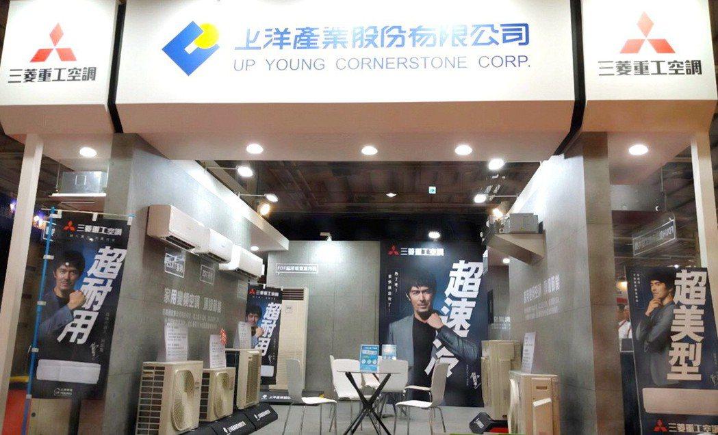 上洋三菱重工空調在「2019台灣國際建築室內創新建材展」,大台中國際會展中心1樓...
