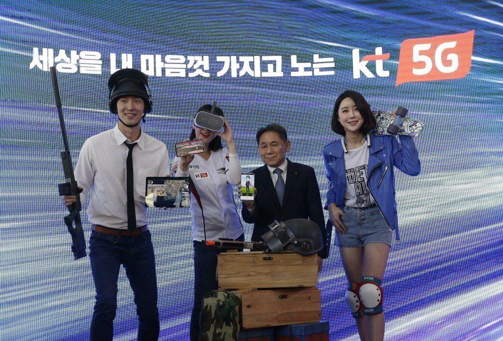 南韓5G發展快速,每隔一段時間就有業者公布新產品。 美聯