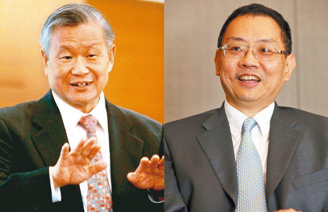 圖左為旺宏董事長吳敏求,右為華邦電董事長焦佑鈞。 圖/聯合報系資料照片