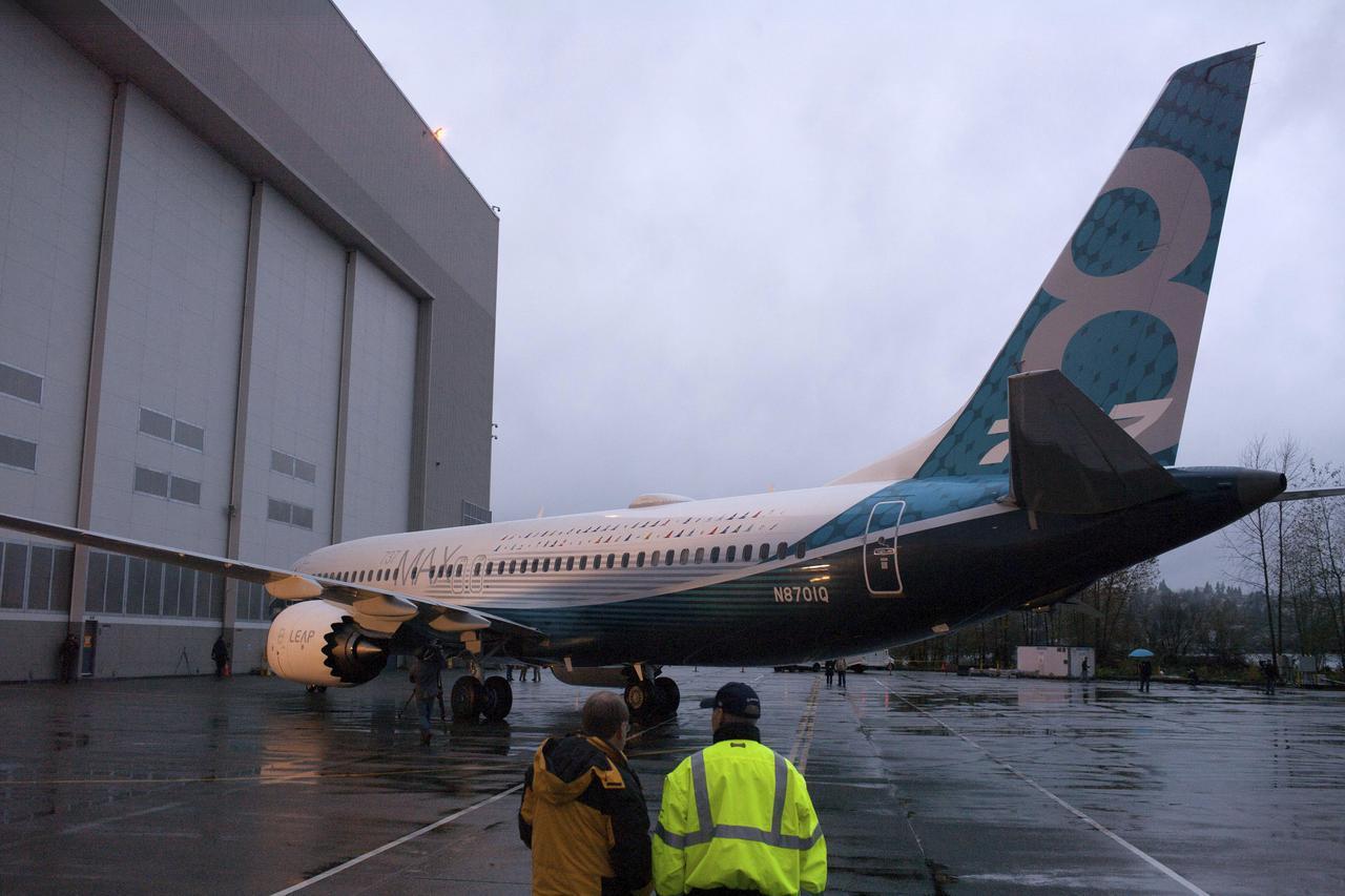 奪命墜機事故讓波音737 MAX 8遭全球禁飛。美聯社