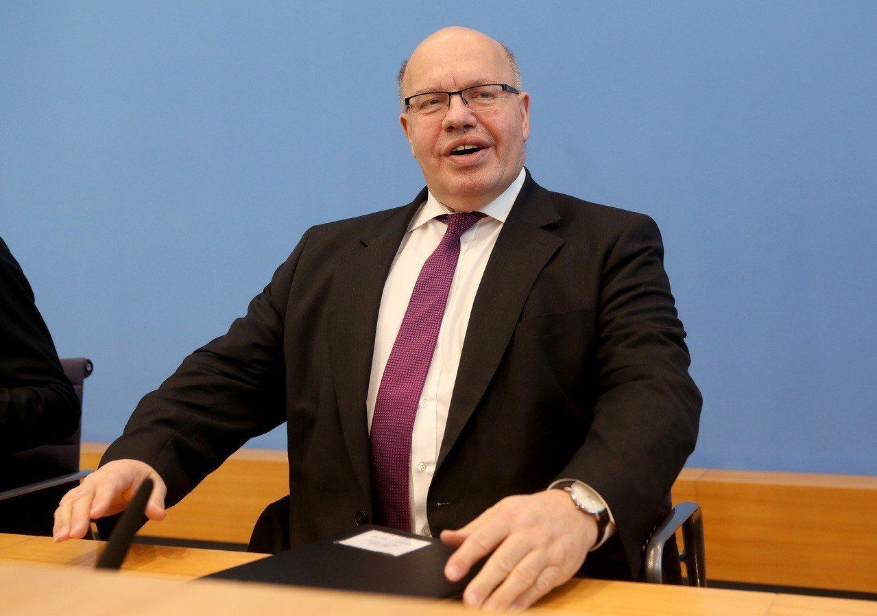 德國經濟部長阿特麥爾。 歐新社