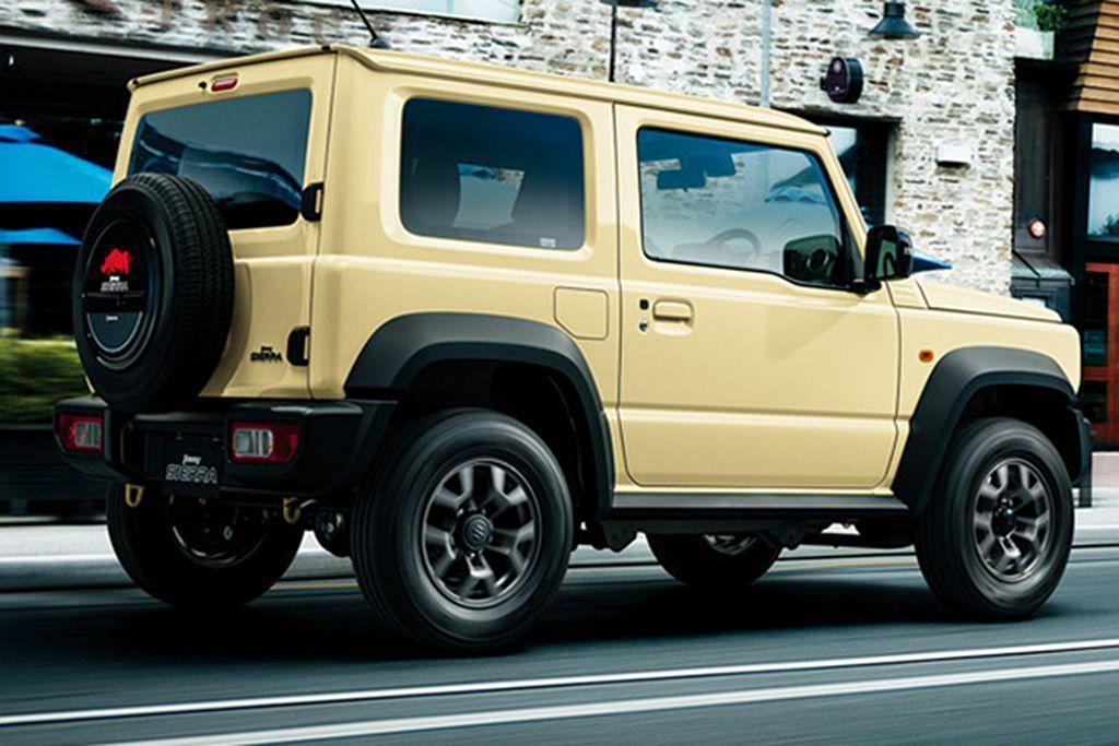 日本Suzuki Jimny Sierra提供JL、JC兩種車型可選,較入門就將...