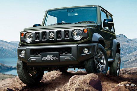 台灣5月16日發表!先來看新Suzuki Jimny有甚麼特點