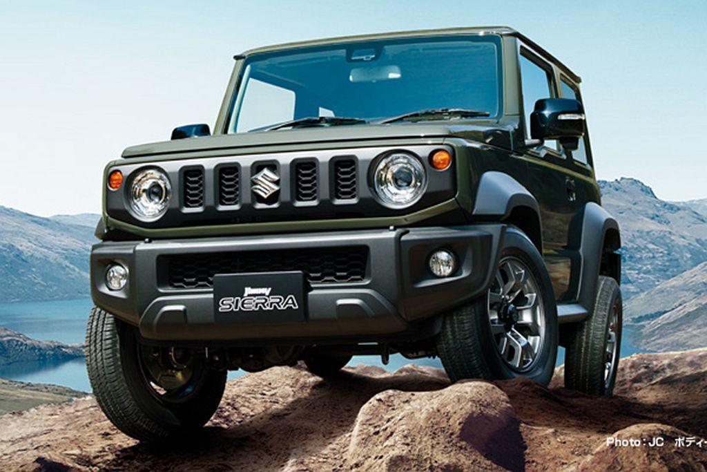 全新第四代Suzuki Jimny確認於5月16日在台發表上市。 圖/Suzuk...