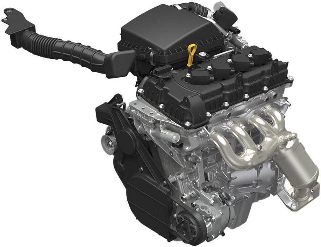 新1.5L自然進氣汽油引擎,具備102ps最大馬力及13.3kgm峰值扭力。 圖...
